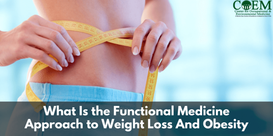 What Is the Functional Medicine Approach to Weight Loss And Obesity